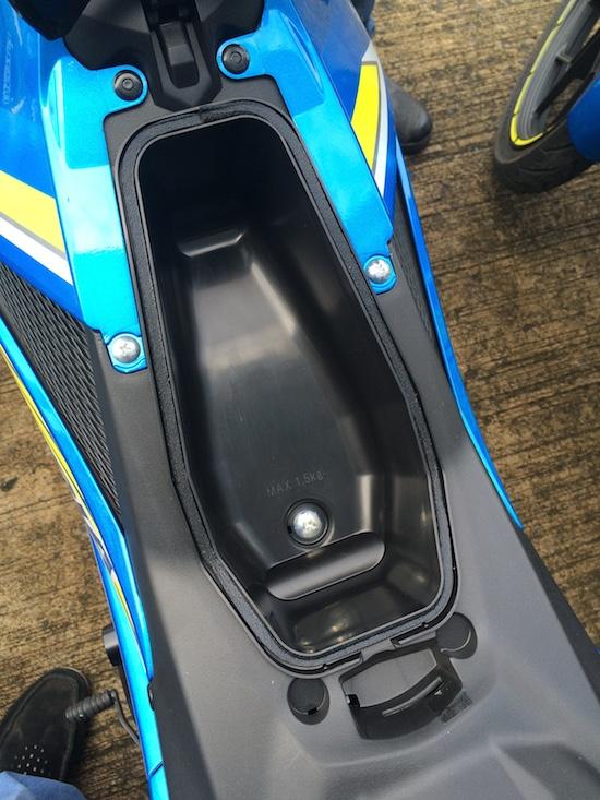 Bagasi Kecil Satria F150