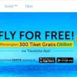Share pengalaman menggunakan traveloka,… simple, cepat dan relatif aman dalam booking tiket dan hotel …!!!