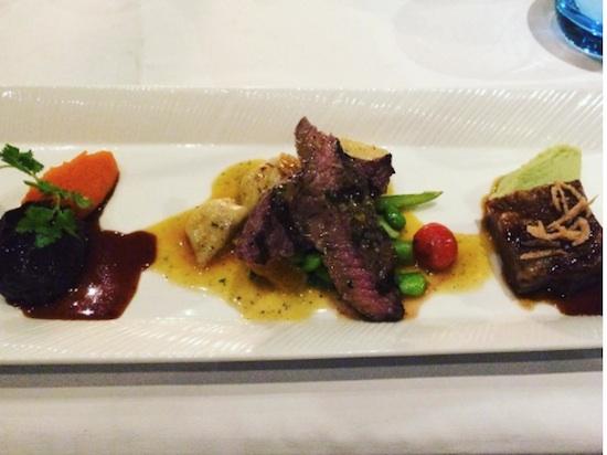 wagyu steak swept away