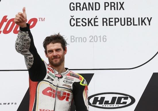 Crutchlow at Brno 2016