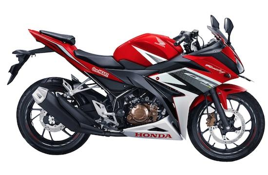 Honda CBR150R samping