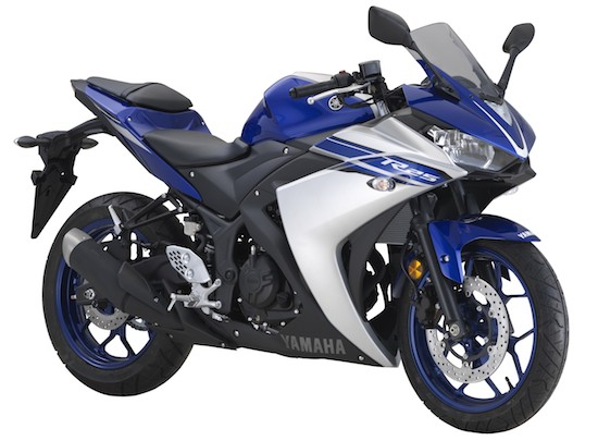 Yamaha R25 front view