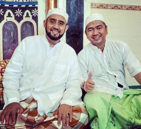 Mas tri with Habib Syech Solo