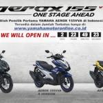 Mestinya Yamaha Aerox 155,.. juga mengeluarkan varian S non ABS … lariiis daaagh …!!!