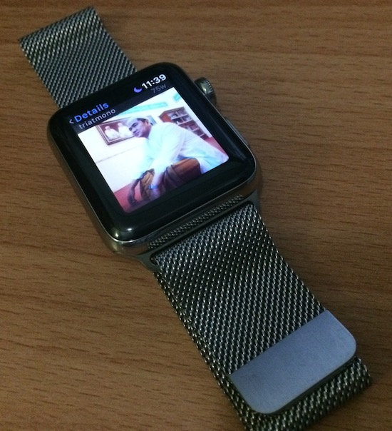 Mas Tri in Apple Watch