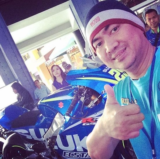 Mas Tri with Suzuki GSX-RR