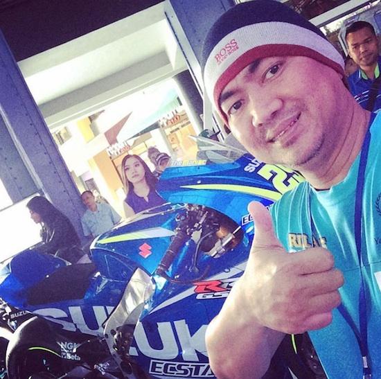 Mas Tri with Suzuki GSX-RR