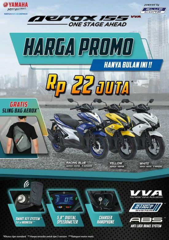 Aerox VVA promo Surabaya