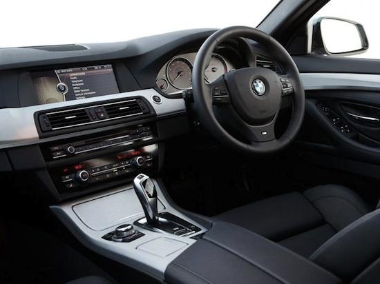 BMW 520D interior