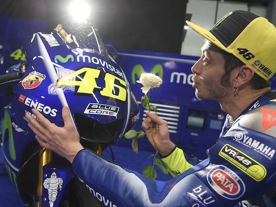 Rossi Yamaha Losail 2017
