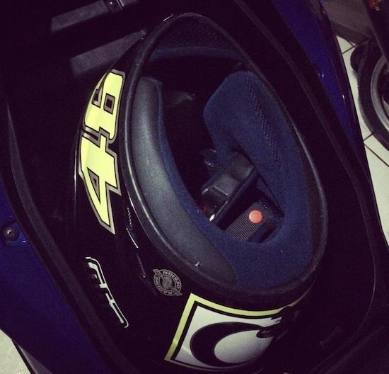 Yamaha Aerox 155 helmet