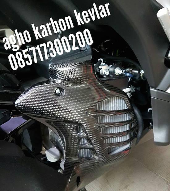 Carbon Kevlar Parts Aerox 155