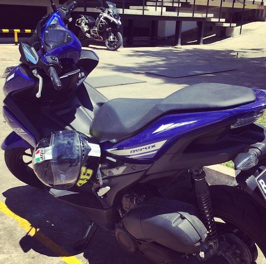 Yamaah Aerox 155 SKD BMW Motorrad