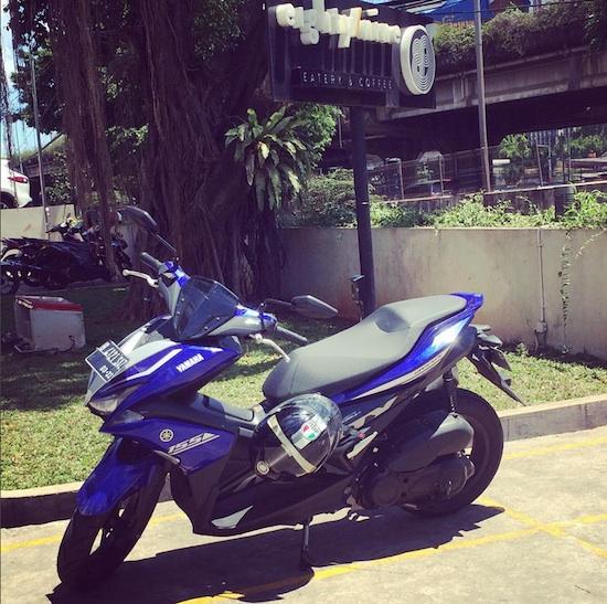 Yamaha Aerox 155 89