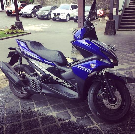 Yamaha Aerox 155 Puncak Pass
