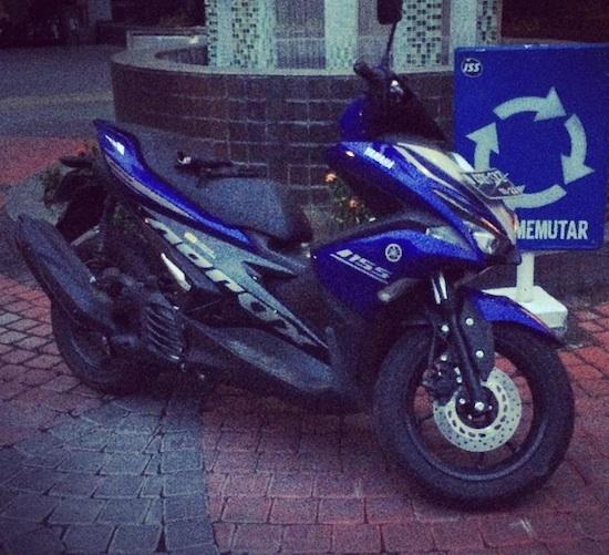 Yamaha Aerox 155 SKD Ciumbuleuit