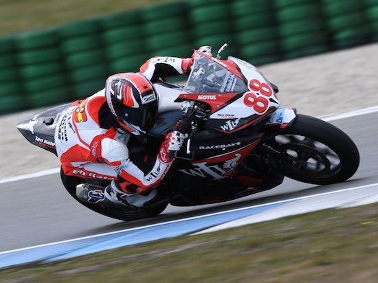 Mika Perez CBR500R