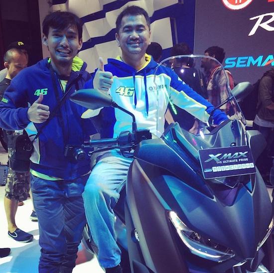 Yamaha XMax Mas tri