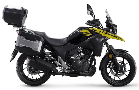 Suzuki V-Strom 250 side view