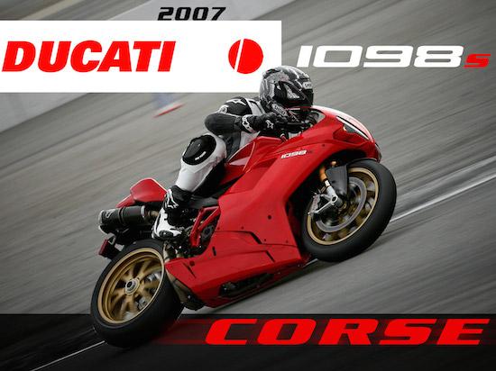 Ducati Corse Gold