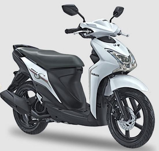 Yamaha Mio S white