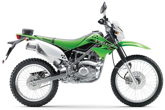 KLX 150 samping