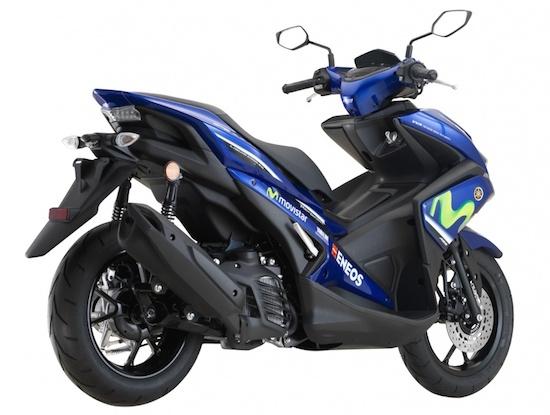 Yamaha Aerox samping