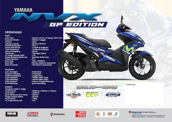 Yamaha NVX hong leong