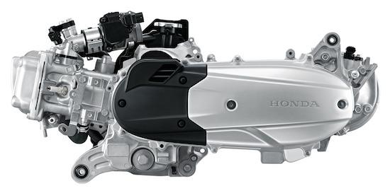 Honda PCX 150 lokal engine