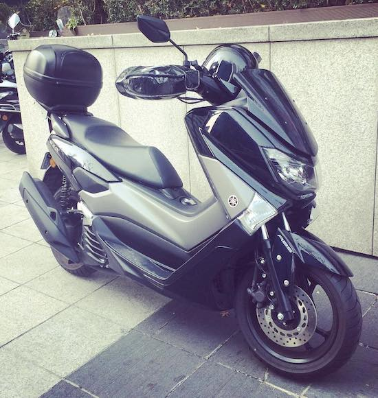 Yamaha NMax in Korea