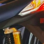 Suspensi belakang Yamaha Lexi model tabung,… added value yang nggak didapat dari product lain …???