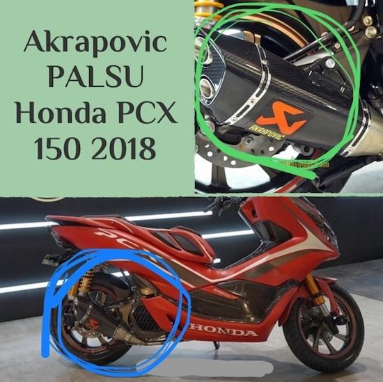 Akrapovic Palsu