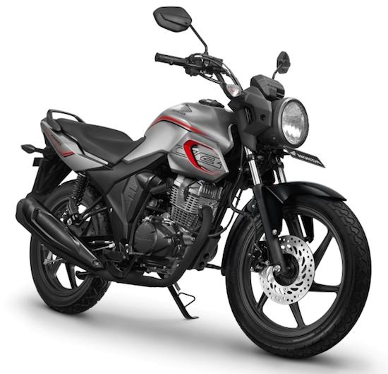 Honda CB150 Verza silver