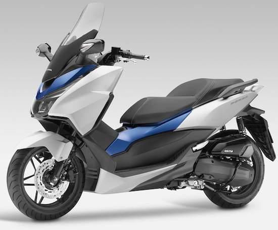 Honda Forza 300 now