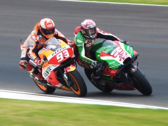 Marquez hits Espargaro
