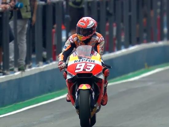 Marquez masuk pit lane Argentina