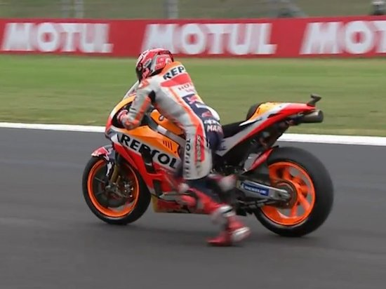 Marquez stall