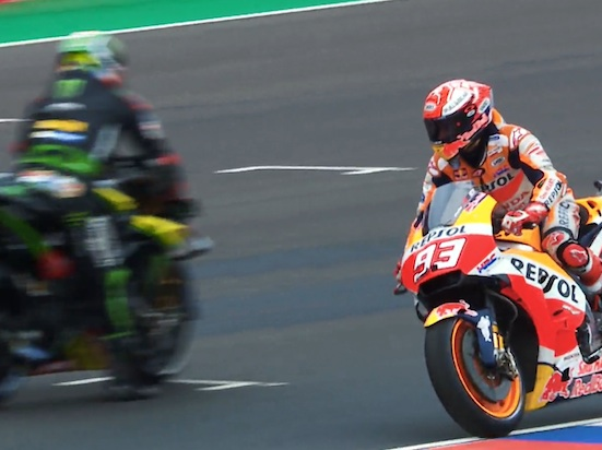 Ride Opposite Marquez