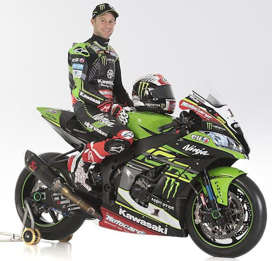Rea with Kawasaki