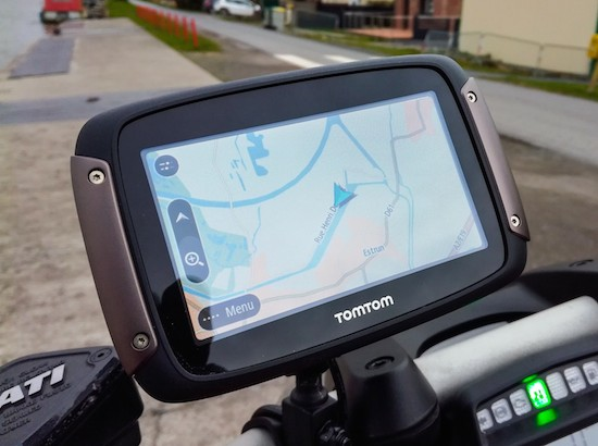 TOmTOm and Ducati
