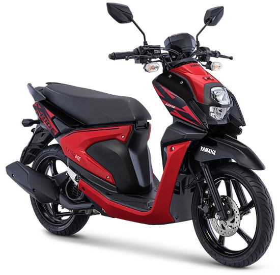 All New X-Ride 125 Attractive Red