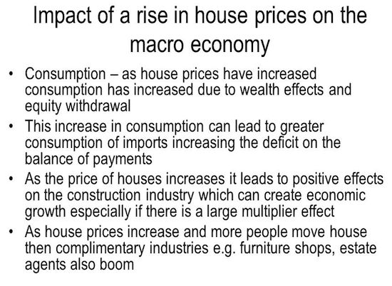 Impact of house rise