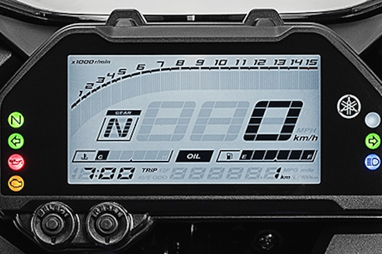 Panel Indicator Yamaha R25