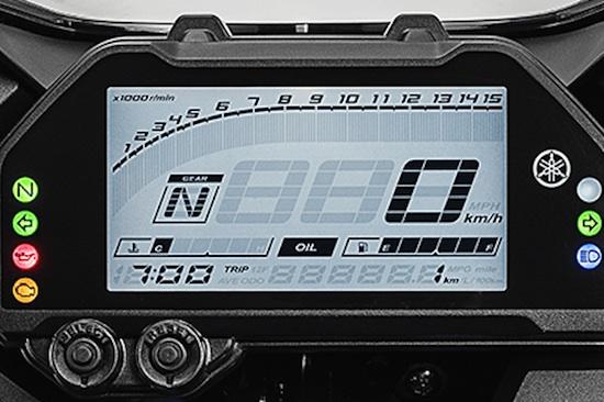 Panel Indicator Yamaha R25