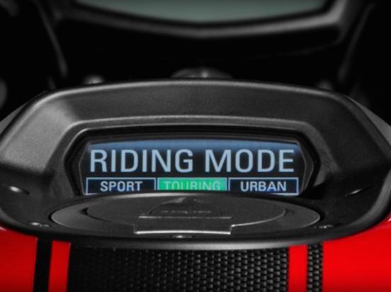 riding mode selector