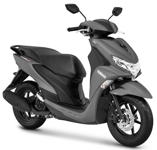 Yamaha Freego silver ABS