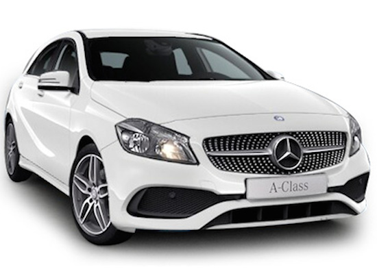 A200 AMG front view