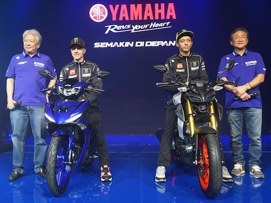 Launching Yamaha MT-15 JKT