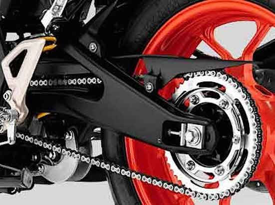 Yamaha MT-15 swing arm