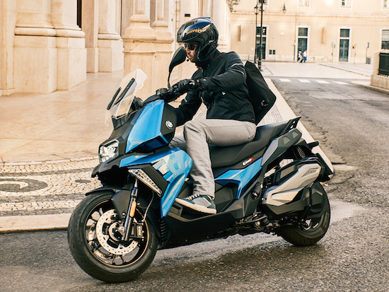 BMW C400X side view